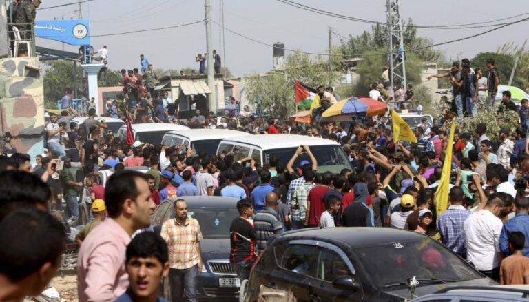 'Fatah' un 'Hamas' tiekas izlīguma sarunās Kairā