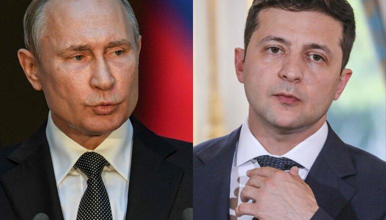 Зеленский поручил своему офису согласовать с Кремлем встречу с Путиным