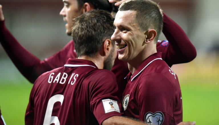 Сборную Латвии прорвало: футболисты одержали первую победу в последних 11 матчах