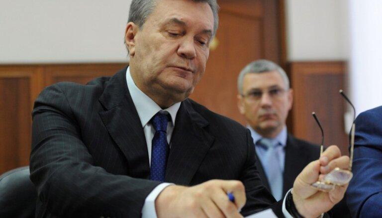 ЕС продлил санкции в отношении Януковича и его окружения