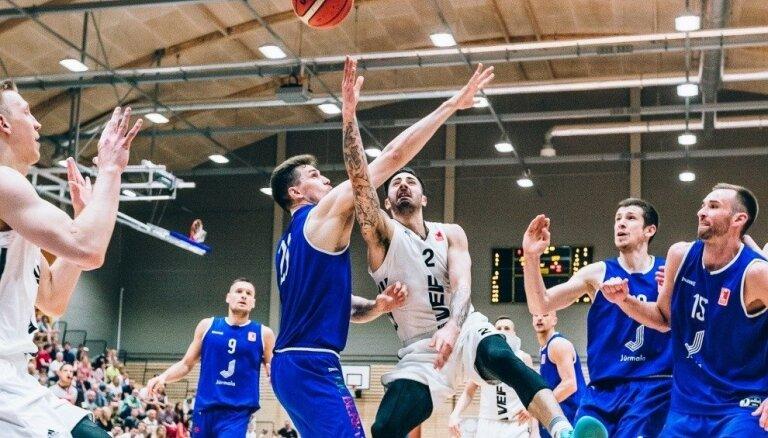 'VEF Rīga' basketbolisti pārliecinoši iesoļo LBL finālā