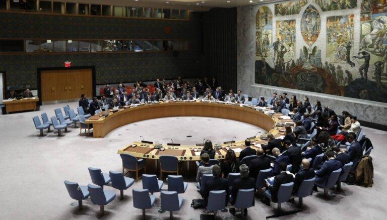 ANO Drošības padome rīkos ārkārtas sēdi par Turcijas uzbrukumu Sīrijā