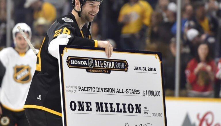 ВИДЕО: Тафгай Скотт стал самым ценным игроком Матча звезд НХЛ