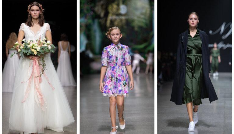 Третий день Рижской недели моды: от утонченных свадебных платьев до вдохновляющих нарядов для детей