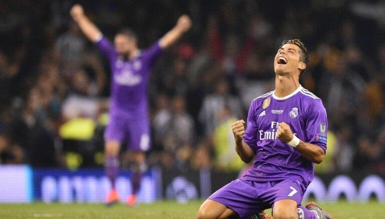 ВИДЕО: Роналду в восторге от самого себя в мультфильме про финал Лиги чемпионов