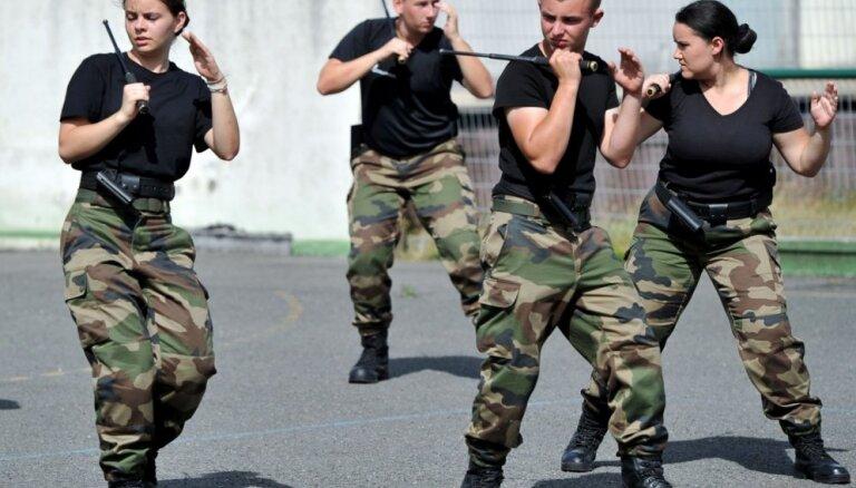 Francijas jaunās Nacionālās gvardes sastāvs līdz 2019. gadam sasniegs 84 000 vīru