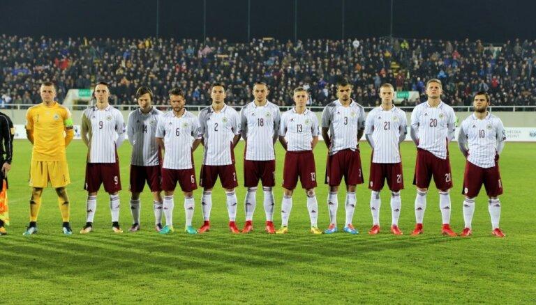 Латвия в рейтинге ФИФА опустилась на 139-е место, у России — антирекорд