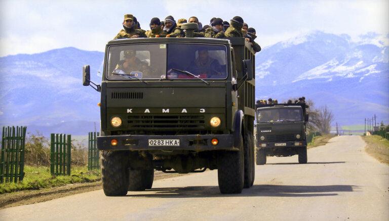Armēnija un Azerbaidžāna 'gatavo tautas mieram'