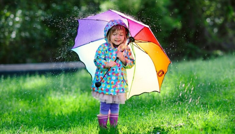 В понедельник возможны дожди, местами - сильные