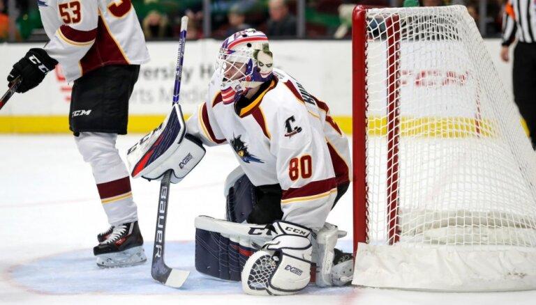 Kivlenieks nosūtīts atpakaļ uz AHL