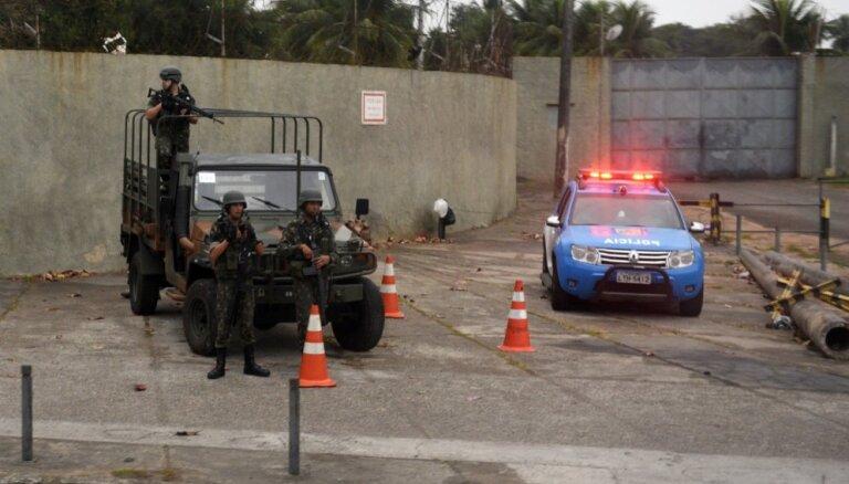 Rio olimpiādes terorakta plānotāju cietumā smagi piekauj kameras biedri