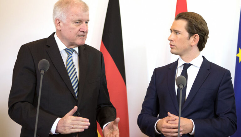 Берлин и Вена обсудят закрытие средиземноморского маршрута беженцев