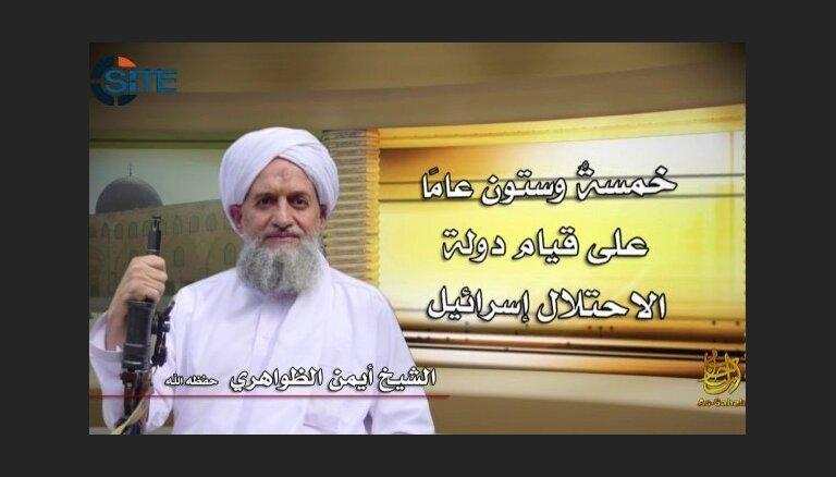 'Al Qaeda' līderis aicina Sīrijas džihādistus apvienoties cīņā par antiamerikānisku valdību