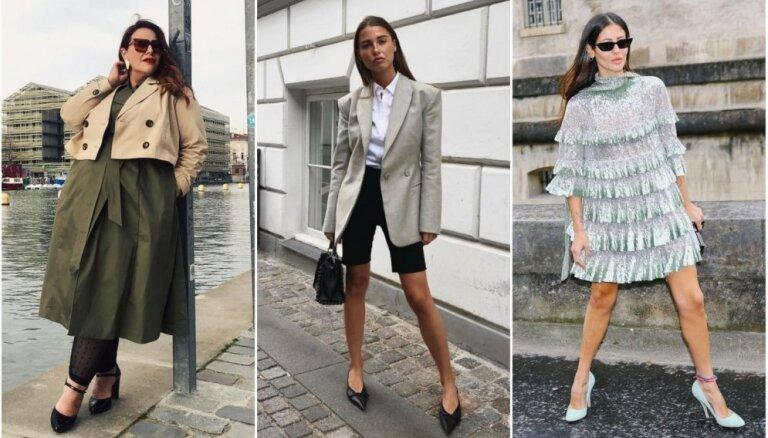 Aprīļa modes salikumi: 30 tērpu idejas katrai mēneša dienai