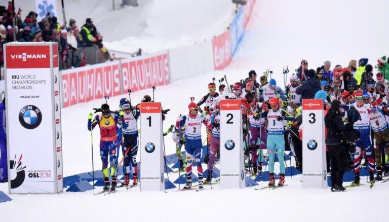 Pasaules kausa sezona biatlonā sāksies novembra beigās