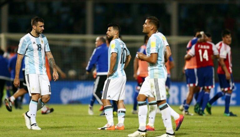 ВИДЕО: Очередная неудача Аргентины, в лидеры выходит Бразилия