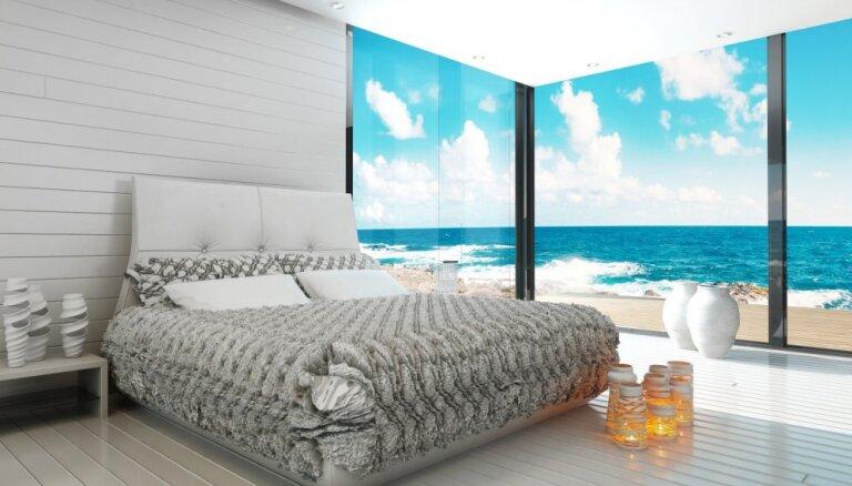 Buduāra cienīga noskaņa – guļamistabas kā sapņu piepildījums