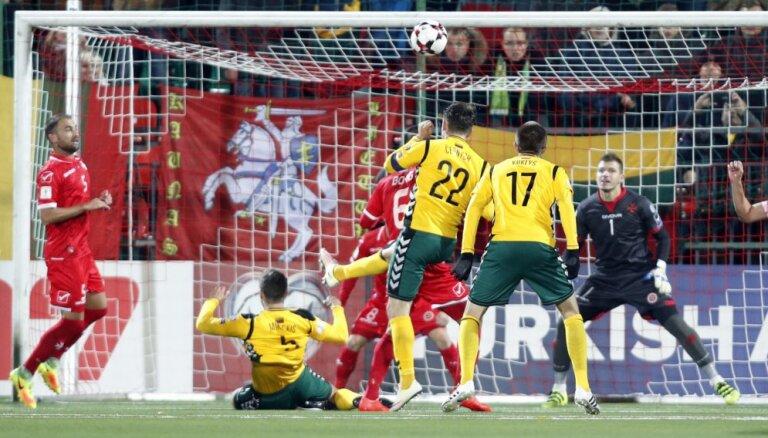 Отборочный матч ЧМ-2018 Литва— Мальта заподозрили в договорном характере