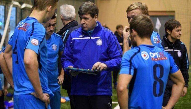 """Главный тренер """"Риги"""": Готовы на 70%, Горкш у нас, ждем пополнения в линии атаки"""