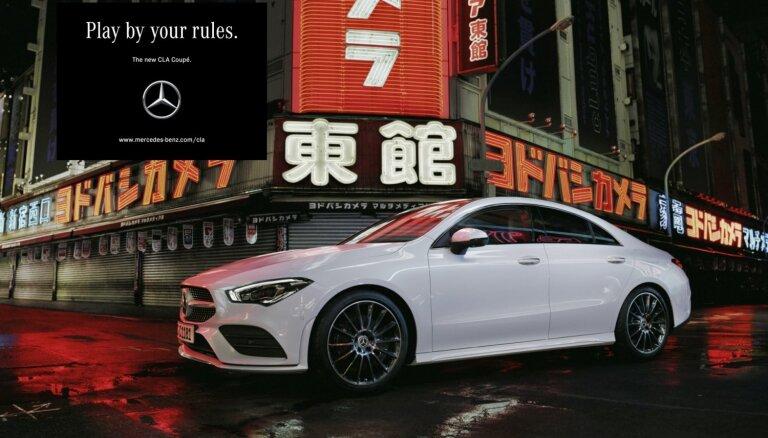'Mercedes-Benz' klajā laidis jauno 'CLA' kupeju
