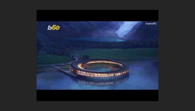 ВИДЕО: В Норвегии за Полярным кругом появится необычный отель-кольцо