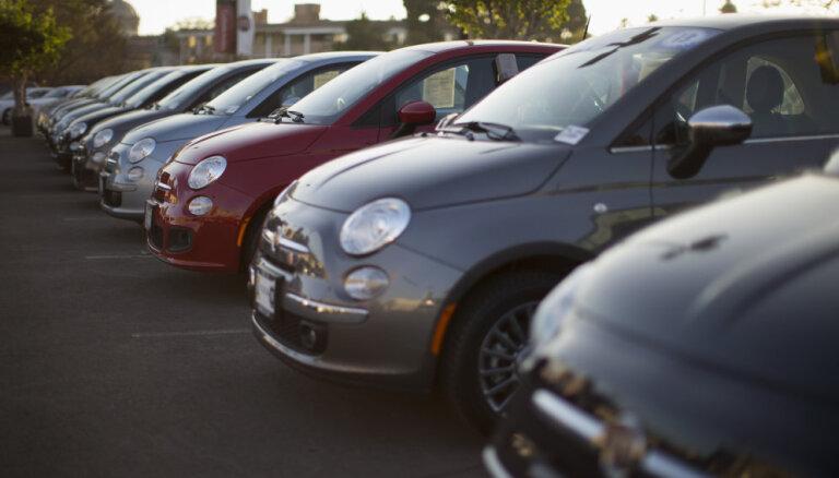 Pirmreizējā reģistrācija Latvijā šogad veikta par 5,2% vairāk vieglo auto
