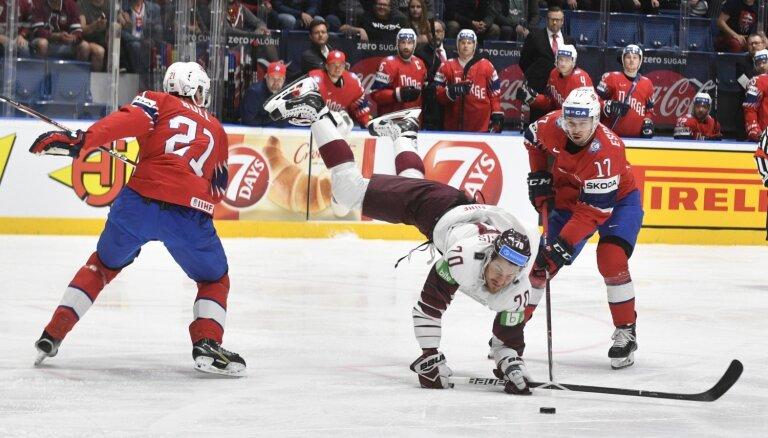 Pasaules hokeja čempionāts: Latvija – Norvēģija. Teksta tiešraide