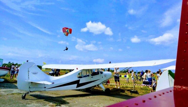 В честь дня авиации в Спилве пройдут демонстрационные полёты на старых самолётах