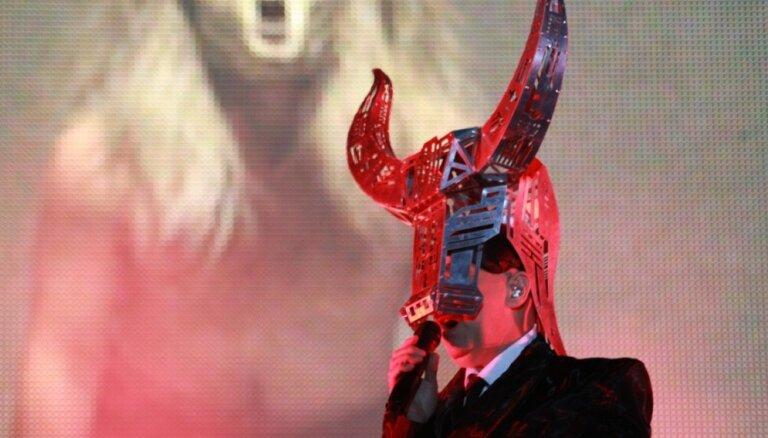 Foto: Ar iespaidīgu 'Pet Shop Boys' šovu noslēdzies festivāls 'LMT Summer Sound'
