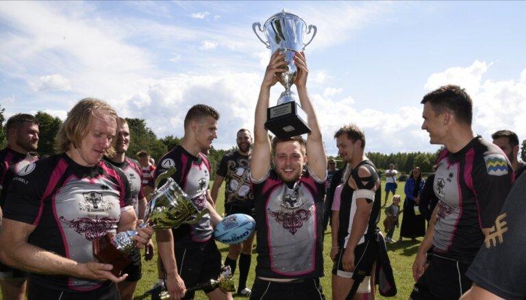 Foto: Latvijas kausu regbijā-7 izcīna 'Livonia'