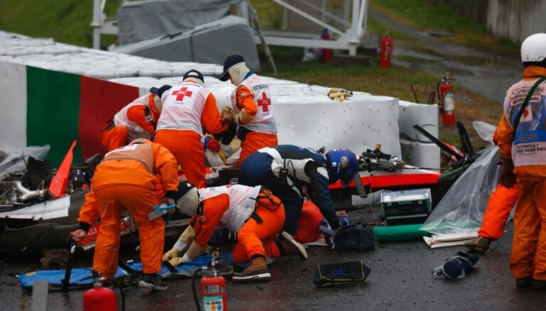 Žila Bjanki ģimene sūdz tiesā F-1, FIA un 'Marussia' komandu