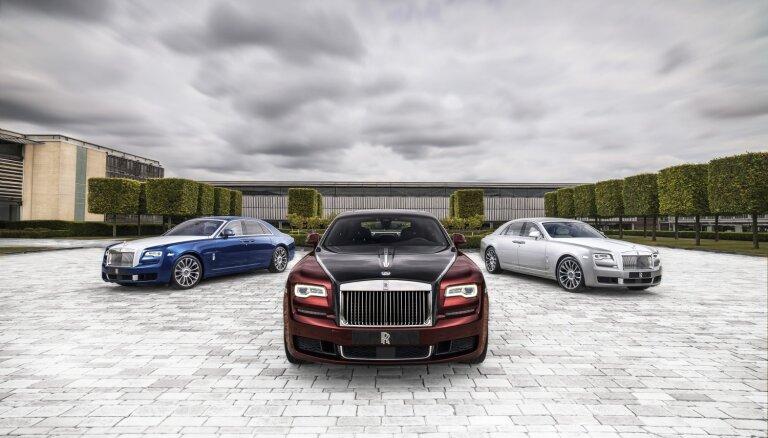 'Rolls-Royce Ghost' limuzīns ekskluzīvā 'Zenith' kolekcijas versijā
