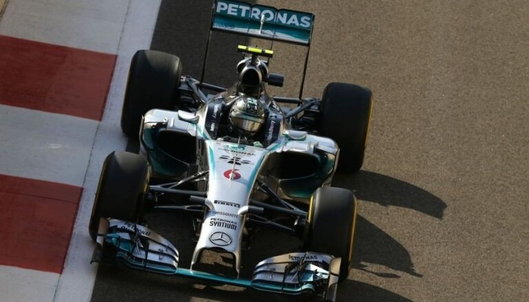 Росберг выиграл квалификацию последнего Гран-при сезона