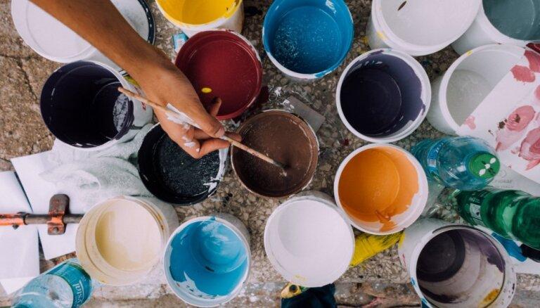 Kā pareizi glabāt krāsu bundžas