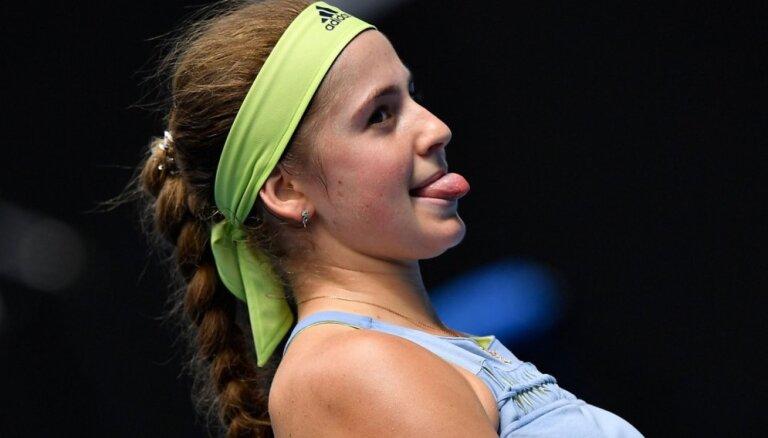 Остапенко вышла в четвертьфинал турнира в Истбурне, Севастова проиграла Касаткиной