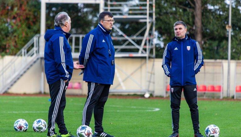 Kazakevičs skaidro lēmumu spēli noslēgt ar trim uzbrucējiem
