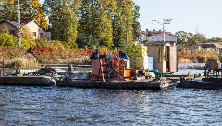 Par gandrīz pieciem miljoniem eiro Jūrmalā stiprinās Lielupes krastu