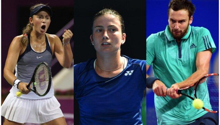 """""""Уимблдон"""": латвийские теннисистки пишут новую главу в истории WTA"""