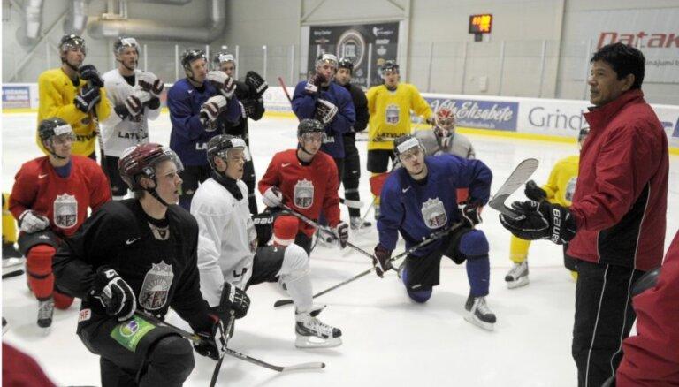 Назван состав сборной Латвии на ЧМ-2013