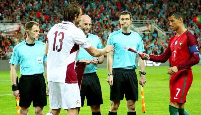 За билет на матч Латвия — Португалия просят до 400 евро