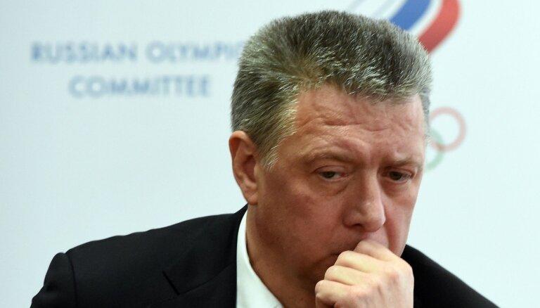 Krievijas Vieglatlētikas federācijas prezidents diskvalificēts par antidopinga pārkāpumiem