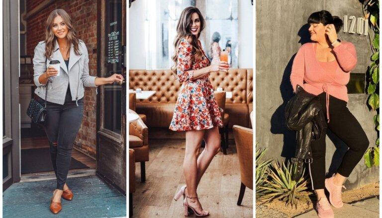 Ar kedām, zābakiem un augstpapēžu kurpēm: tērpu kombinācijas, kas izskatīsies lieliski