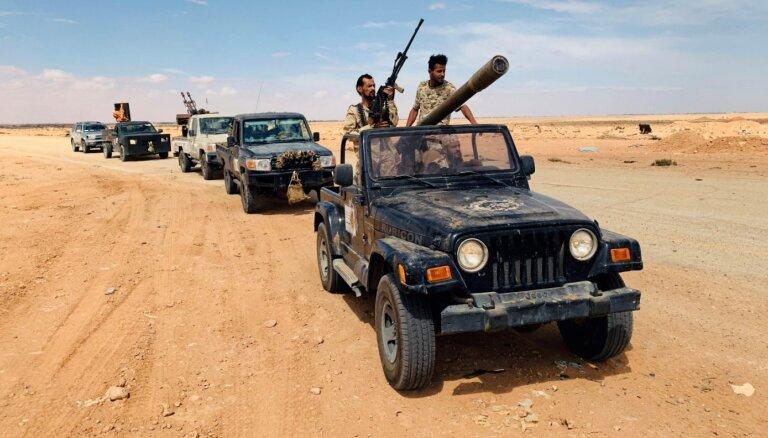 ES apsver militāru iesaisti Lībijas konfliktā