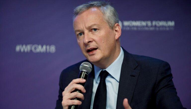 Francijas ministrs brīdina par jaunu auksto karu ASV–Ķīnas spriedzes dēļ
