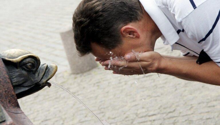 Похолодание отменяется: в выходные в Риге будет особенно жарко
