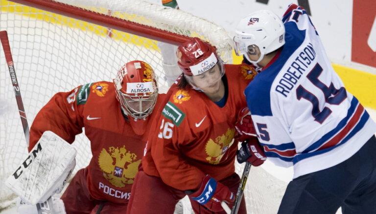 Cборные России и Беларуси впервые проиграли на юниорском чемпионате мира