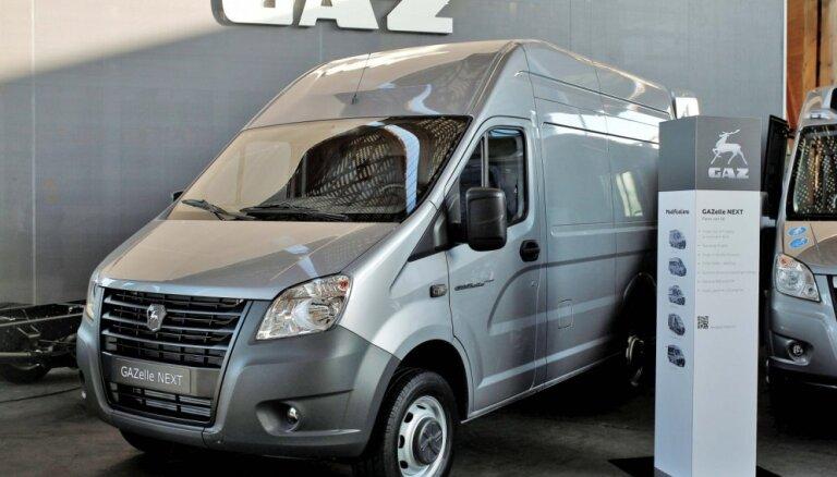 Krievu 'GAZelle' eksporta tirgum ieguvusi VW dīzeļmotoru