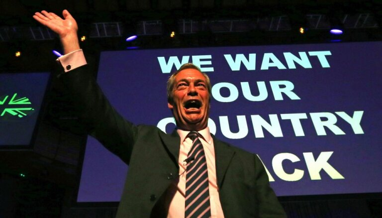 "Британия: ""Партия Брекзита"" лидирует в опросах перед выборами в Европарламент"