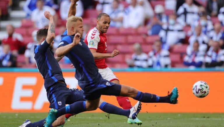 Somijas futbolistiem grūti aizmirst to, kas notika ar Ēriksenu