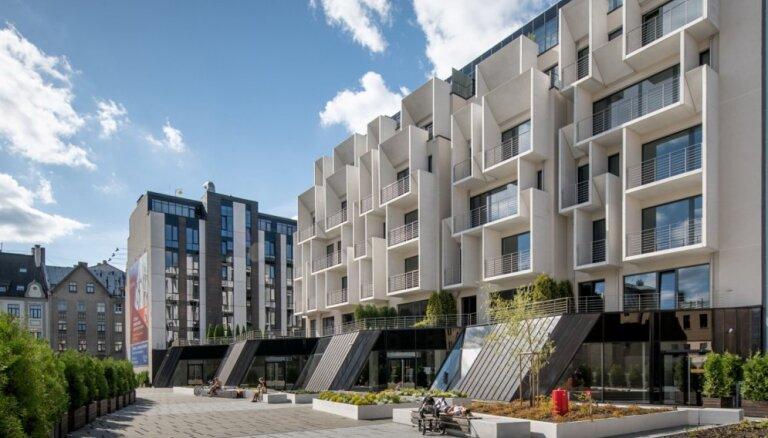 Рига опередила Таллин и Вильнюс по приросту количества новых квартир в 2018 году
